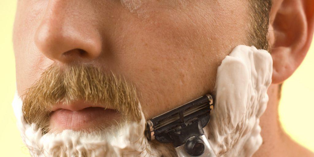 Espuma de barbear